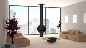cheminee moderne design cheminée design bathyscafocus sur pied gaz youtube