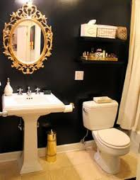 gold bathroom ideas 20 amazing unfinished basement ideas you should try navy gold