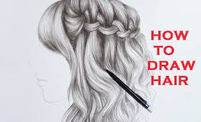 drawing braid curly hair realistic youtube