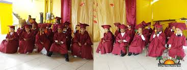 cap and gown for preschool caps gowns and diplomas preschoolers graduate the san pedro sun
