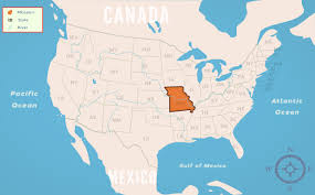Map Of Missouri State by Missouri Mo State Information