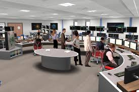 integrating display technology into workspace design