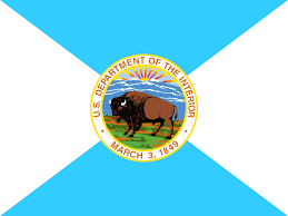 united states department of interior bureau of indian affairs file flag of the united states department of the interior svg
