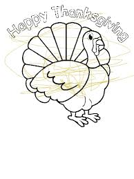 thanksgiving day turkey trot cincinnati coloring page