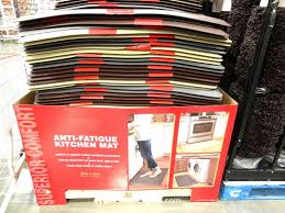 kitchen costco kitchen mat with anti fatigue comfort mat design
