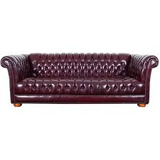 Leather Chesterfield Sofas For Sale Vintage Burgundy Leather Chesterfield Sofa For Sale At 1stdibs