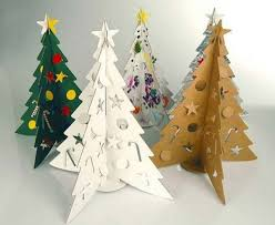 cardboard christmas tree 10 most creative christmas trees made using recycled materials