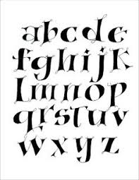 new alphabet fonts calligraphy and creative lettering