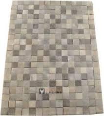 tappeti pelle di mucca pelo di mucca tappeto grigio patchwork 200 x 150 cm tappeto pelle