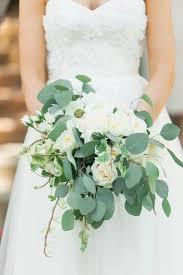 wedding flowers eucalyptus wedding flowers gorgeous cascading bridal bouquets inside