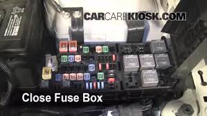2011 ford fusion tail light replace a fuse 2010 2012 ford fusion 2011 ford fusion se 2 5l 4 cyl