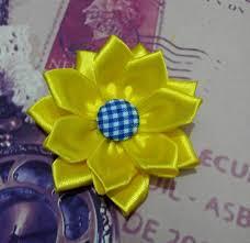 cara membuat bunga dari kertas pita jepang cara membuat bunga pita aksesoris handmade bros flanel bros pita