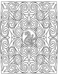 celtic swirls and bird coloring page by lorrainekelly on deviantart