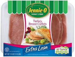 boneless turkey breast for sale lean turkey breast cutlets jennie o product info