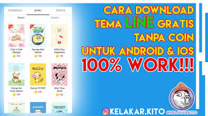 download theme line android apk cara download tema line gratis tanpa coin untuk android ios 100