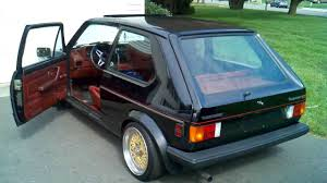volkswagen rabbit 83 vw rabbit gti youtube