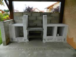 realiser une cuisine en siporex comment construire une cuisine exterieure faire en beton cellulaire