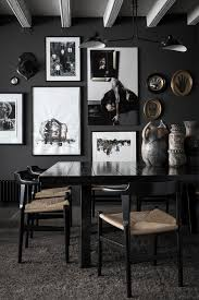 black dining room 8 black dining rooms with chic style