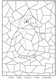 addition coloring pages for kindergarten sheets maths color by
