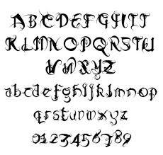 block font design pinterest sketches fonts and scissors