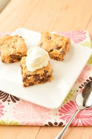 congo bars chocolate chip cookie bars macaroni and cheesecake
