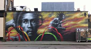 history is made at night re appreciating bob marley after marlon bob marley mural by dale grimshaw near to brockley station south london this was painted this year to replace a previous marley mural that was demolished