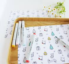 colour christmas wrapping paper design yay