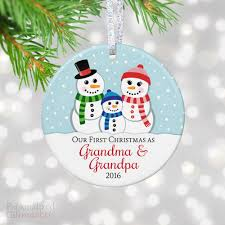 grandparent ornaments personalized christmas as and ornament personalized
