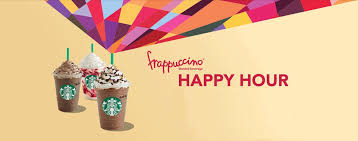 starbucks canada frappuccino happy hours are back enjoy your