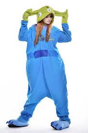 Blue Man Halloween Costume Buy Totoro Onesie Animal Footed Pajamas Size Anime