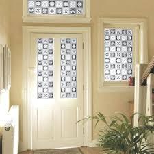 door clings u0026 gila frosted window cling back door