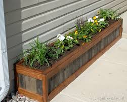 something old something new u201d planter box planters box and creative