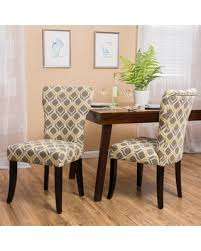 Grey And Yellow Chair Tis The Season For Savings On Cecily Fabric Geometric Print Dining