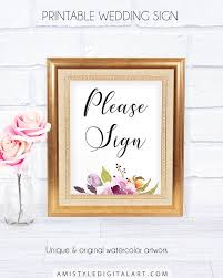 wedding welcome sign template sign floral wedding decor with and lovely watercolor