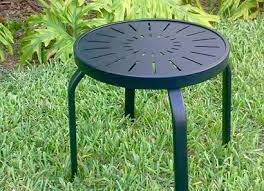 outdoor furniture side table side tables beach and patio furniture