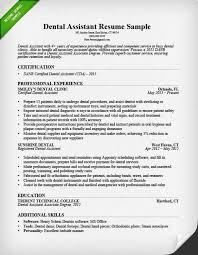 sample dental assistant cover letter medical assistant cover