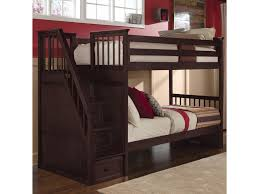 Bunk Bed Storage Stairs Ne School House Bunk With Storage Stairs