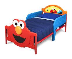 Amazon Com Delta Children 3d Footboard Toddler Bed Sesame