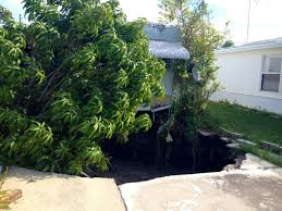 Sinkhole In Backyard Sinkholes In Florida News And Information Photos And Video
