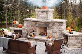 Fake Outdoor Fireplace - best outdoor fireplace ideas to increase home value with fun