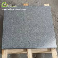 china g654 sesame black flamed granite for floor and wall china