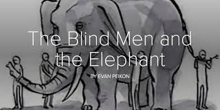 The Blind Men And The Elephant The Blind Men And The Elephant Training Think Tank