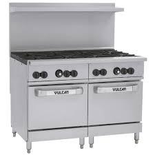 48 Gas Cooktops Vulcan 48ss 8bn Endurance Natural Gas 8 Burner 48