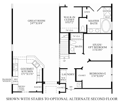 regency at trotters pointe the bronson home design