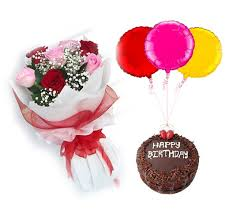 bae flowers and balloon at happy birthday bae buy flowers in dubai uae flowers dubai