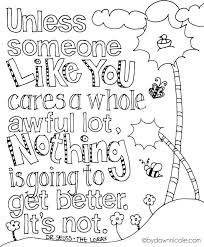 coloring pages on kindness kindness coloring pages lovely the lorax inspired earth day coloring