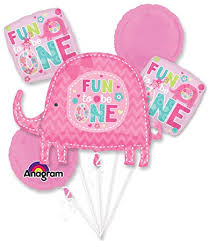 baloon bouquet one girl 1st birthday balloon bouquet each baby