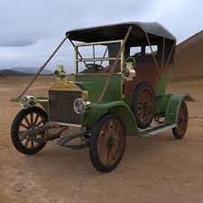 opel coupe 1909 3d cgtrader