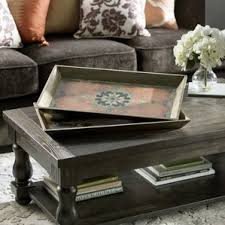 Tray For Coffee Table Decorative Trays You U0027ll Love Wayfair