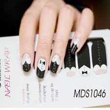 aliexpress com buy 100pcs melodi nail stickers cartoon bow